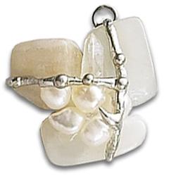 Archangel Gabriel Crystal Amulet Pendant
