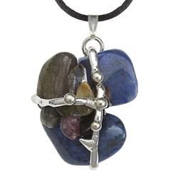 Archangel Metatron Crystal Amulet Pendant
