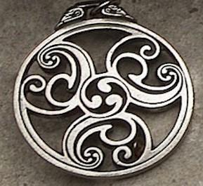 Celtic Triscele #2 Pendant