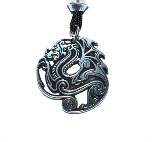 Beowulf's Dragon Pendant