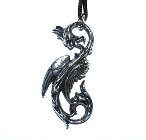 Dragon of the Moon Pendant