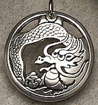 Treasure Keeper Dragon Pendant