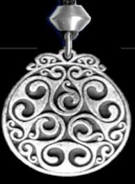 Triscele of Dana Pendant