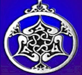 Celtic Heart Triscele Pendant