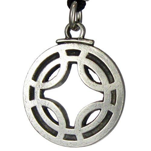Fulfills Wishes Icelandic Binding Rune Pendant