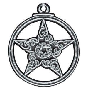 Gothic Pentacle Pendant