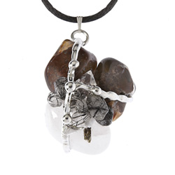 Astral Travel Crystal Amulet Pendant