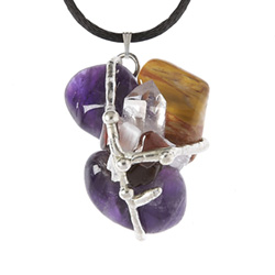 Awareness Crystal Ascension Amulet Pendant