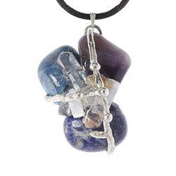 Channeling Crystal Ascension Amulet Pendant
