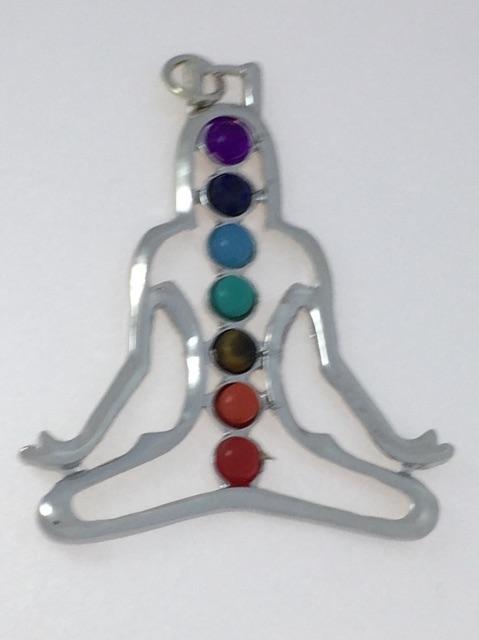 Chakra Meditation Pendant
