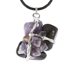 Goddess Divine Crystal Ascension Amulet Pendant