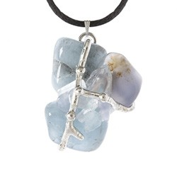 Shekinah Crystal Ascension Amulet Pendant