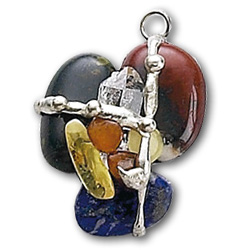 Magic Crystal Transformational Amulet Pendant