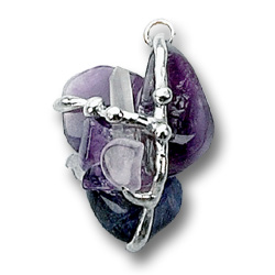 Psychic Crystal Transformational Amulet Pendant