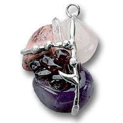 Soulmate Crystal Transformational Amulet Pendant