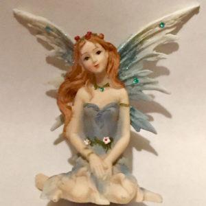 Green Sitting Fairy