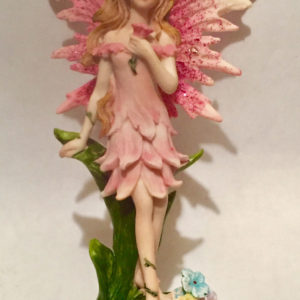 Pink Standing Fairy