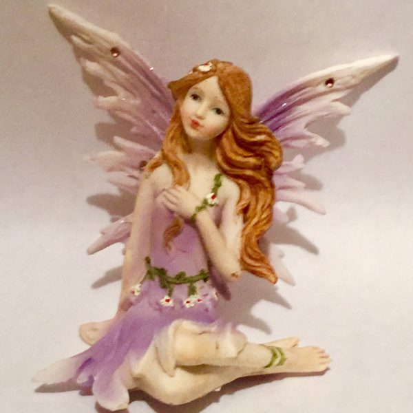 Purple Fairy Sitting