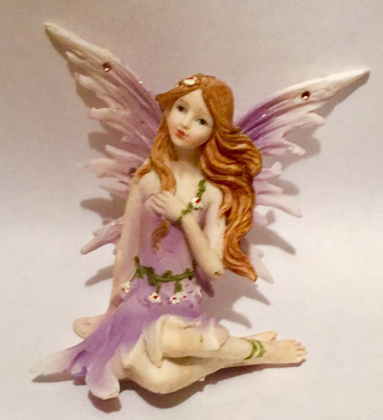 Purple Fairy Sitting