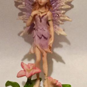 Purple Standing Fairy