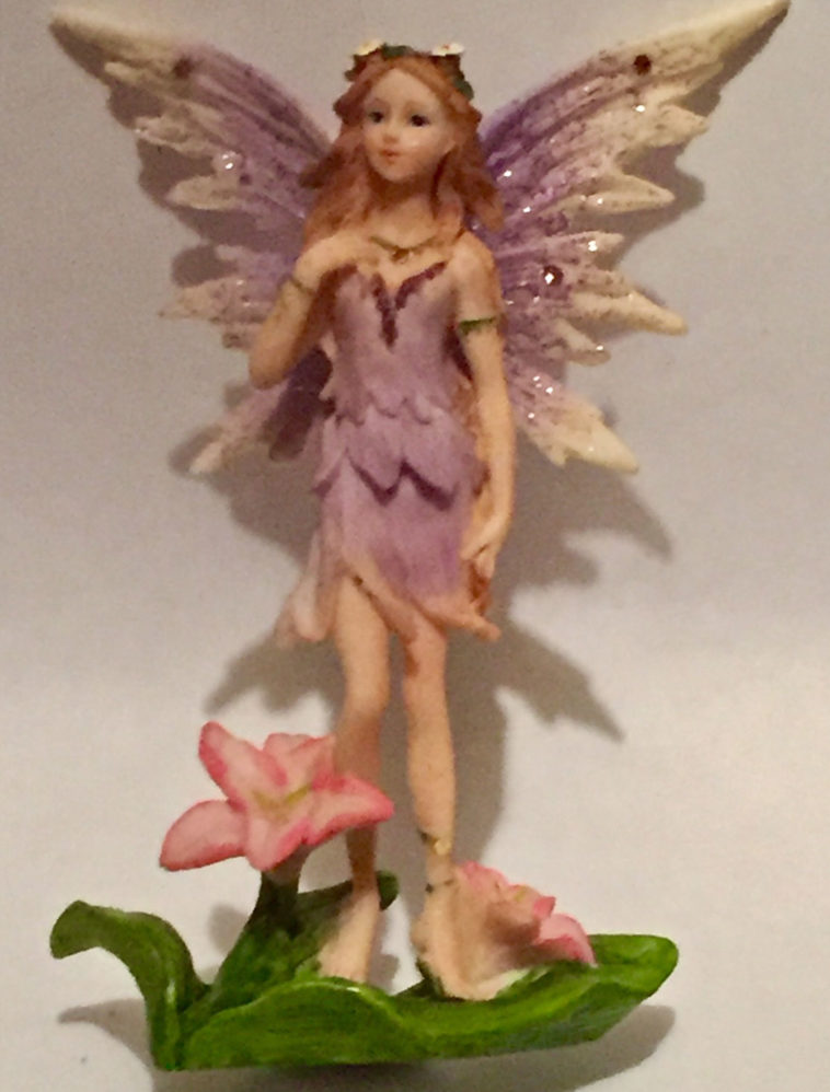 Purple Standing Fairy